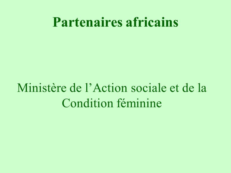 Partenaires africains