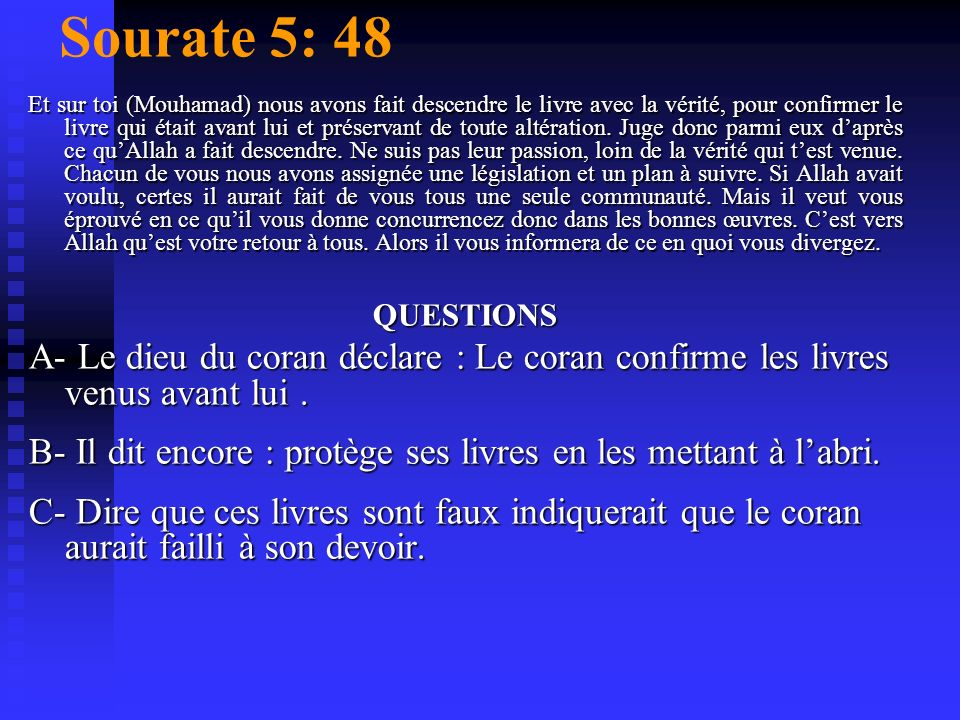 Sourate 5: 48