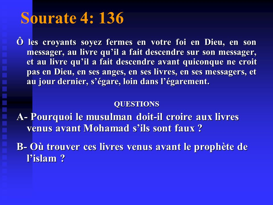 Sourate 4: 136