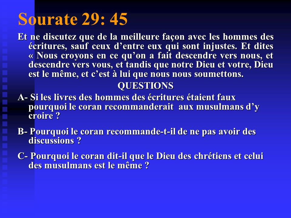 Sourate 29: 45