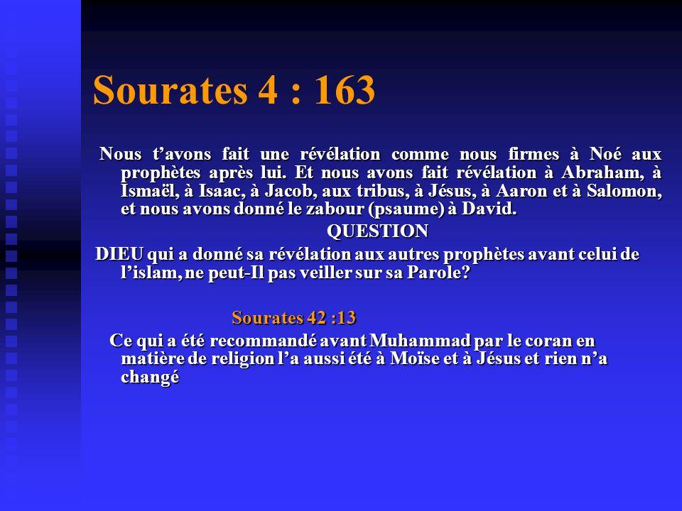 Sourates 4 : 163