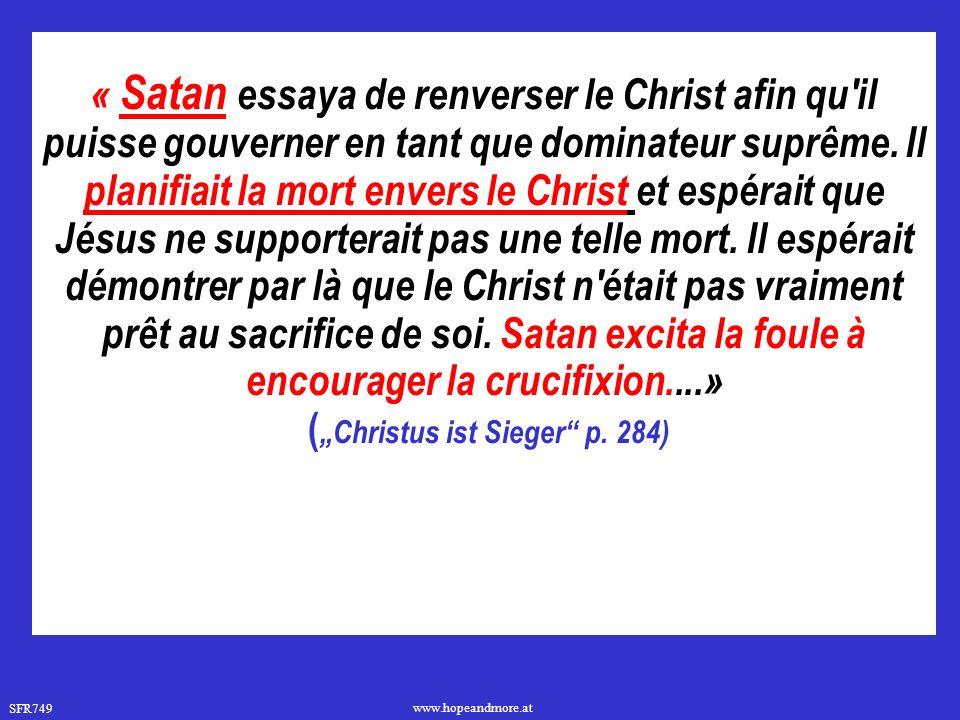 """(""""Christus ist Sieger p. 284)"""