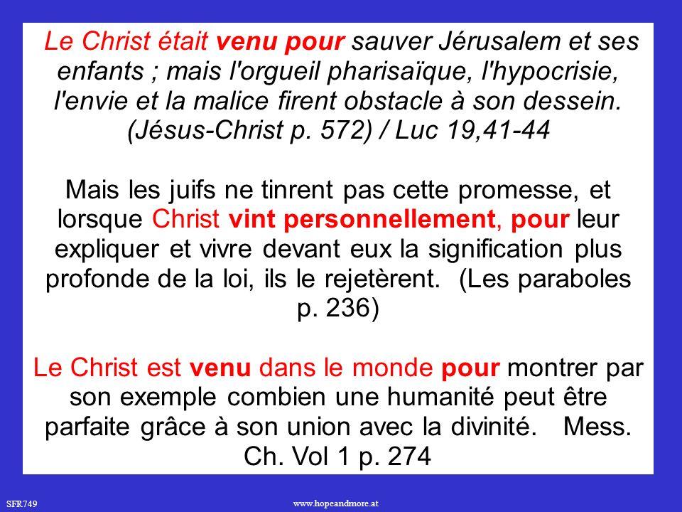 (Jésus-Christ p. 572) / Luc 19,41-44