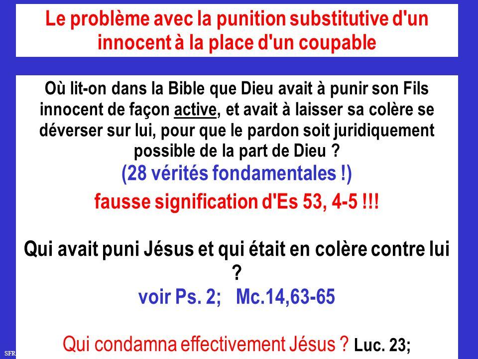 (28 vérités fondamentales !) fausse signification d Es 53, 4-5 !!!