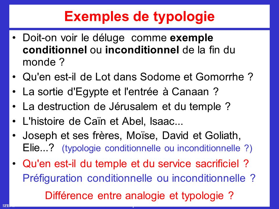 Différence entre analogie et typologie