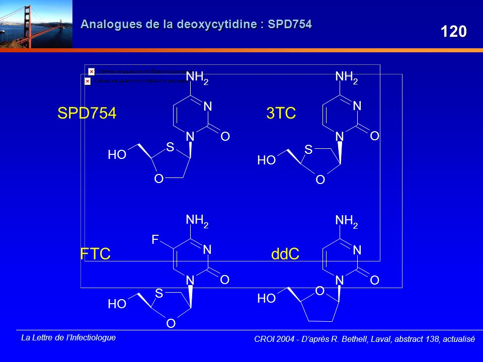 Analogues de la deoxycytidine : SPD754