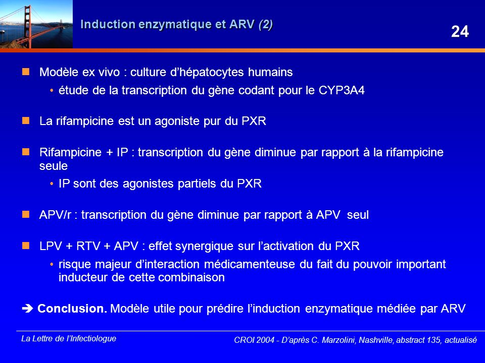 Induction enzymatique et ARV (2)
