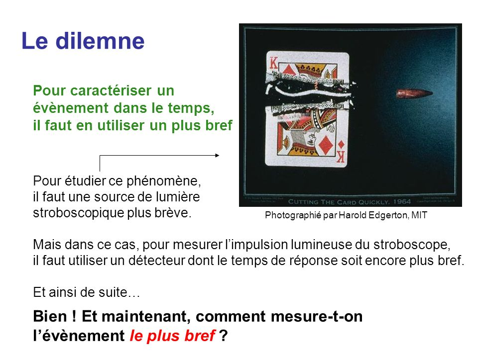 Le dilemne Bien ! Et maintenant, comment mesure-t-on