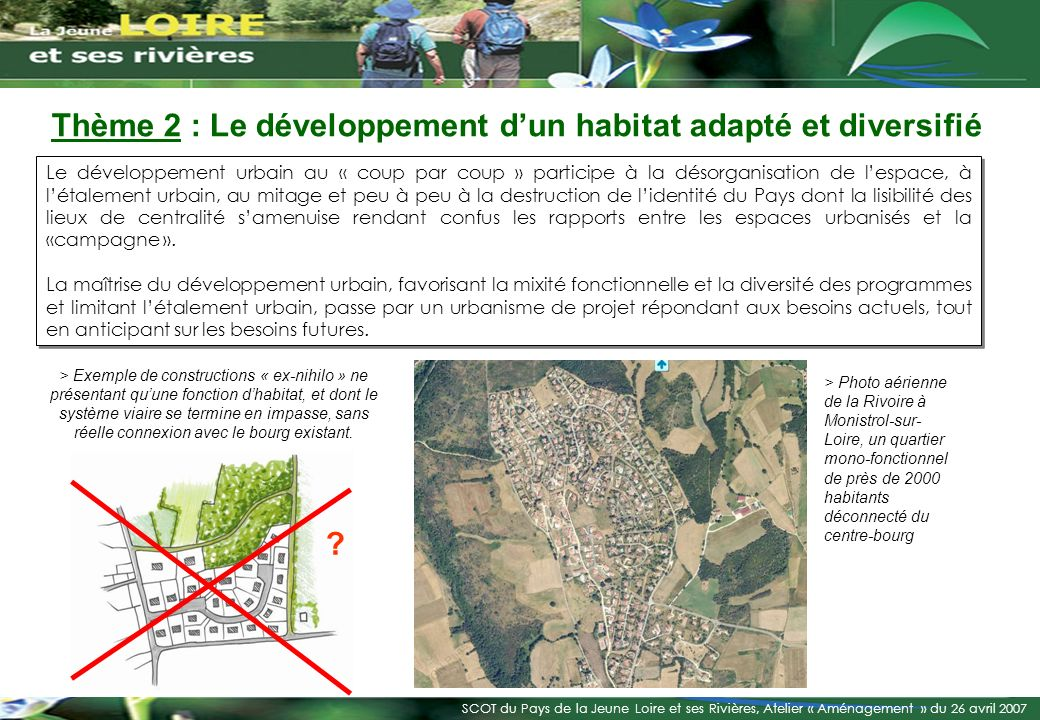 Thème 2 : Le développement d'un habitat adapté et diversifié