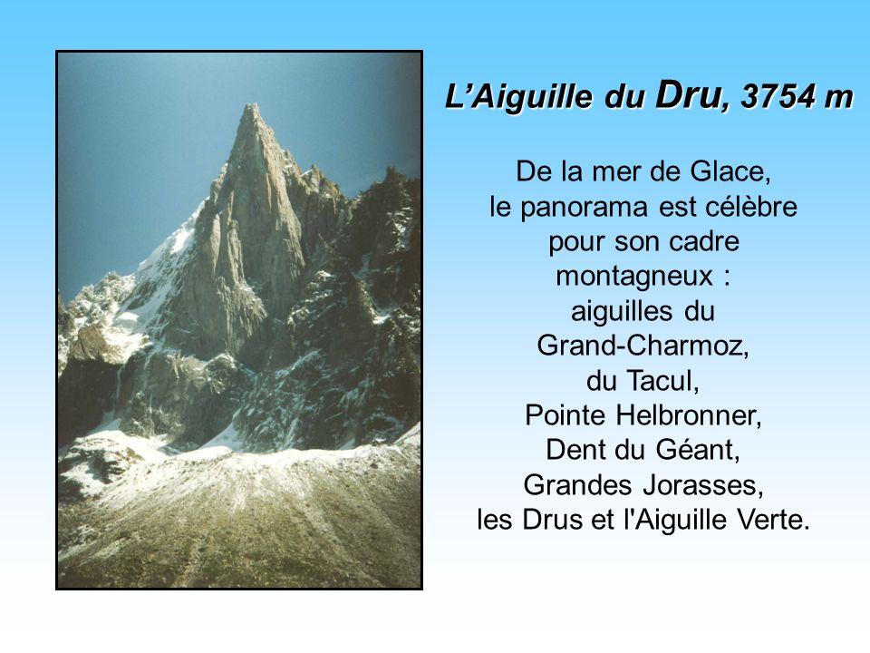 L'Aiguille du Dru, 3754 m