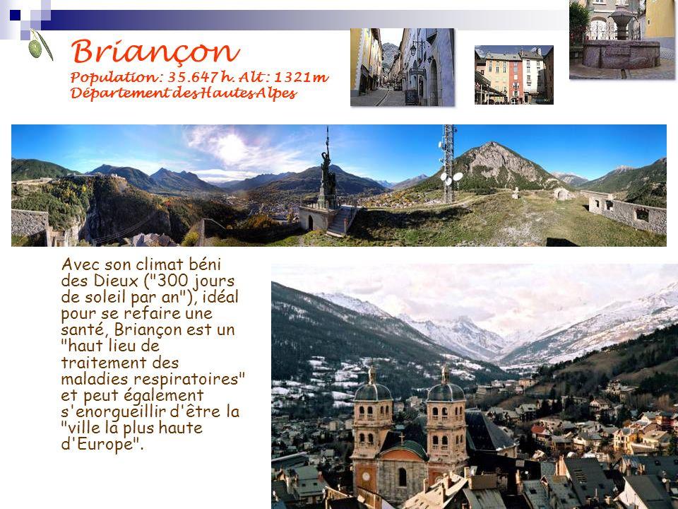 Briançon Population : 35. 647 h