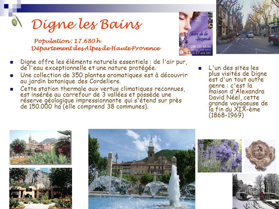 Digne les Bains Population : 17