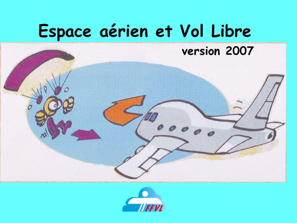 Espace aérien et Vol Libre