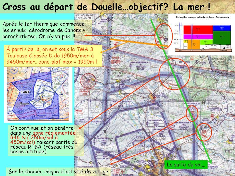 Cross au départ de Douelle…objectif La mer !