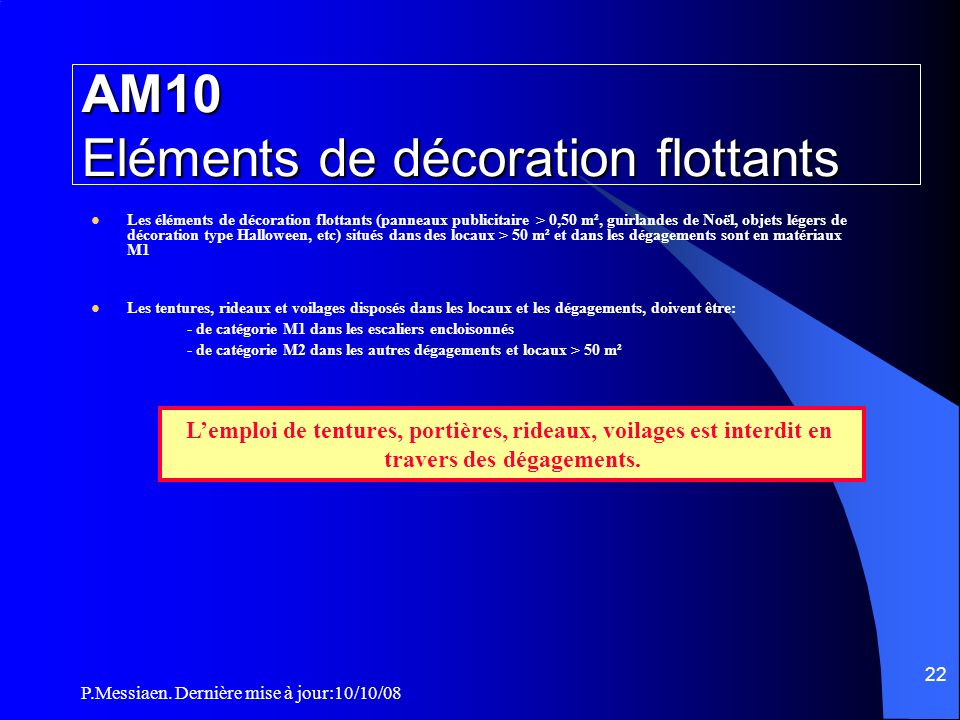 AM10 Eléments de décoration flottants