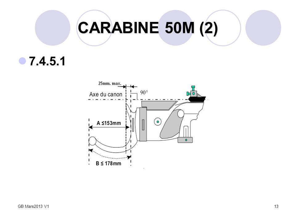 CARABINE 50M (2) 7.4.5.1 GB Mars2013 V1 5 Février 2009
