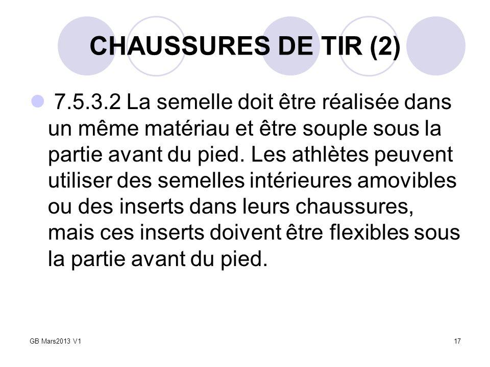 CHAUSSURES DE TIR (2)