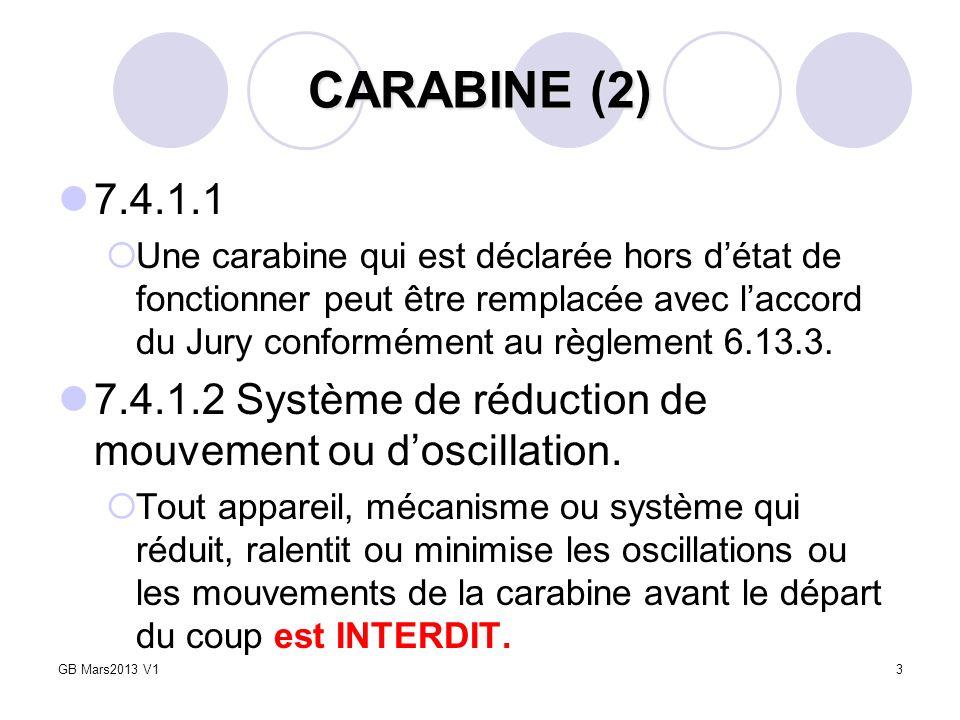 CARABINE (2) 7.4.1.1.