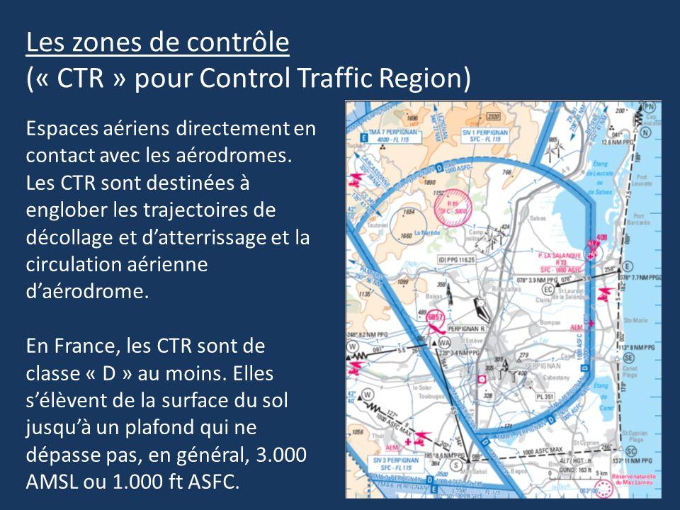 (« CTR » pour Control Traffic Region)