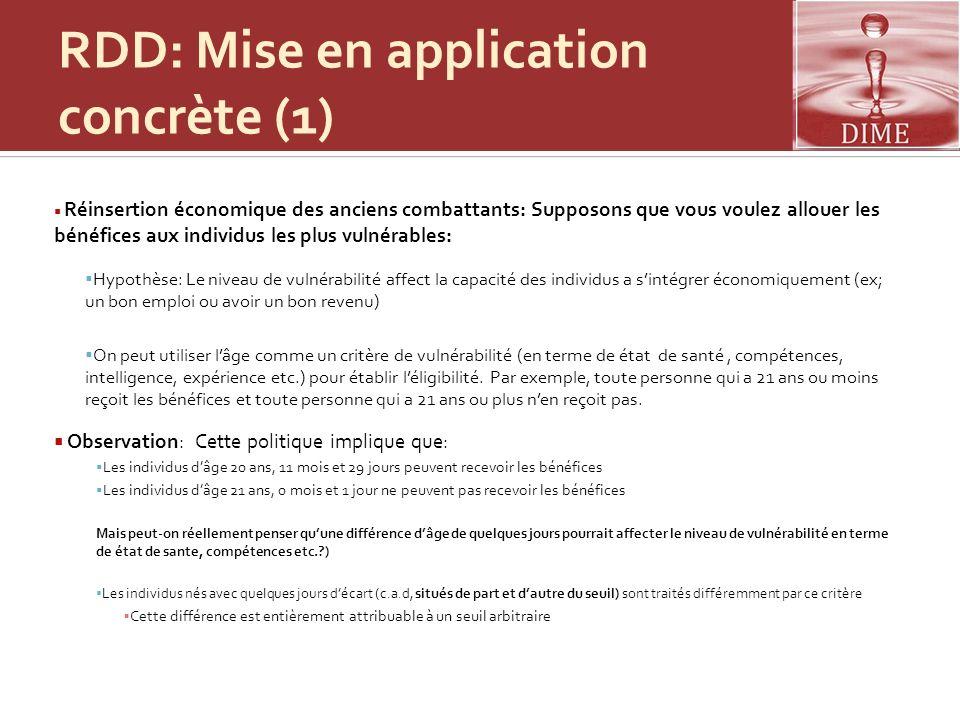 RDD: Mise en application concrète (1)