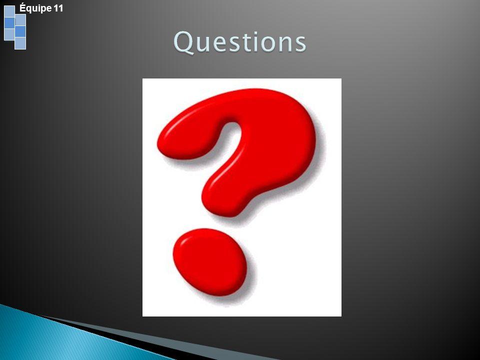 Équipe 11 Questions