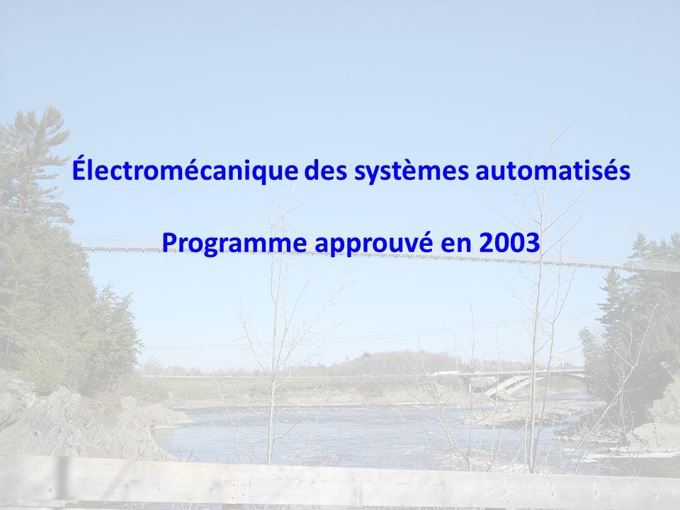 Électromécanique des systèmes automatisés