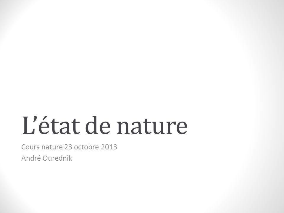 Cours nature 23 octobre 2013 André Ourednik