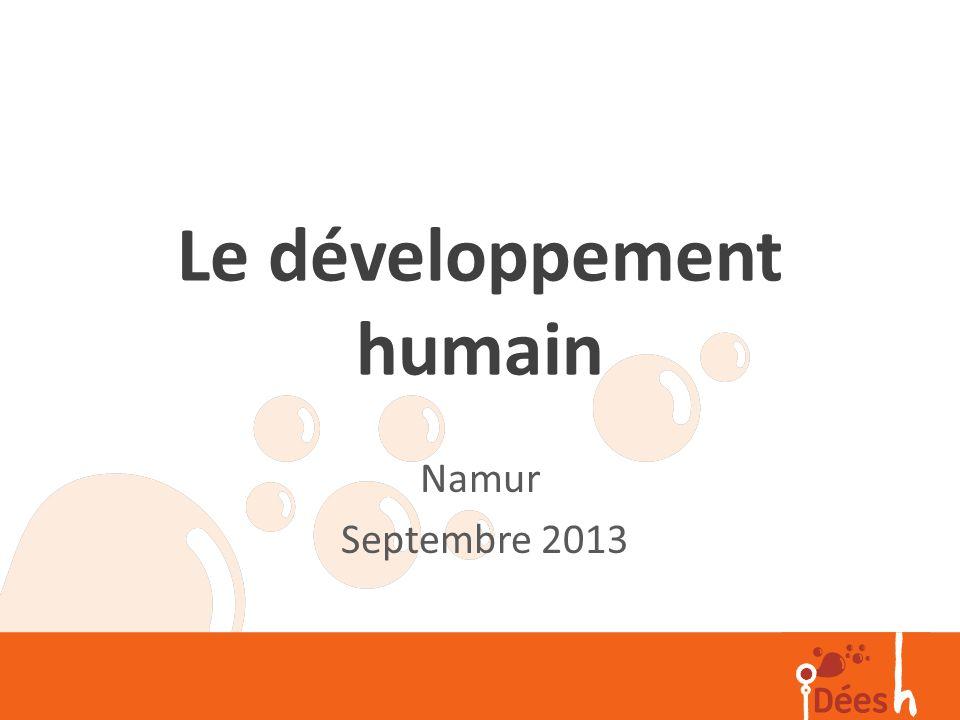 Le développement humain