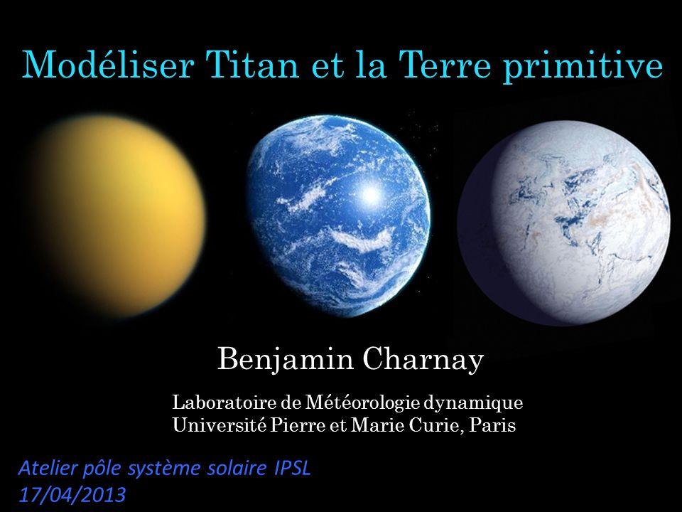 Modéliser Titan et la Terre primitive