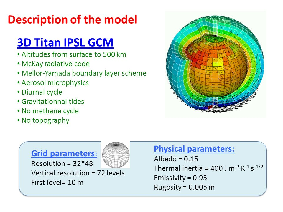 Description of the model