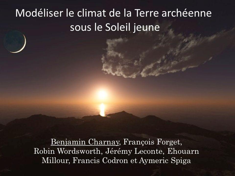 Modéliser le climat de la Terre archéenne sous le Soleil jeune