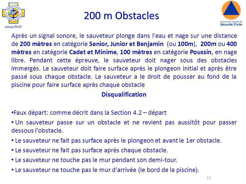 200 m Obstacles