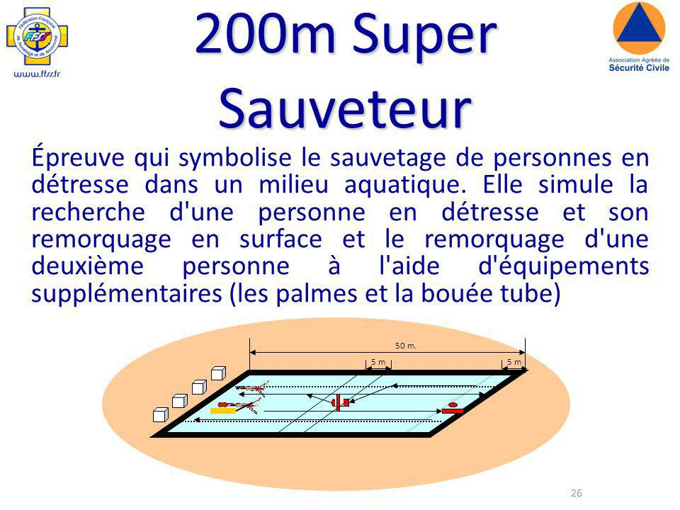 200m Super Sauveteur