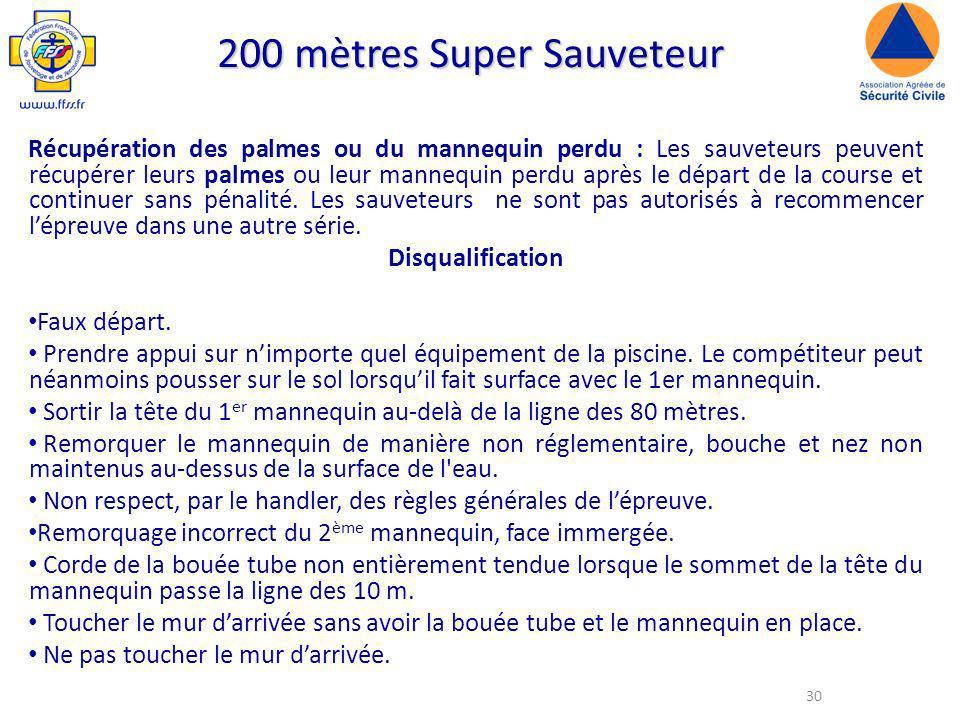 200 mètres Super Sauveteur