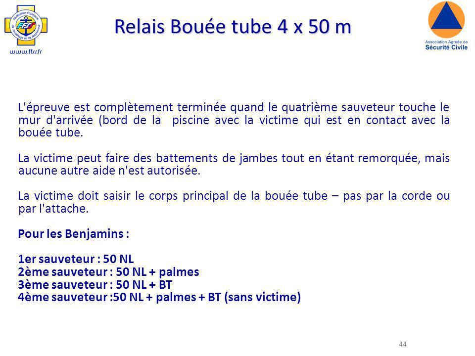 Relais Bouée tube 4 x 50 m
