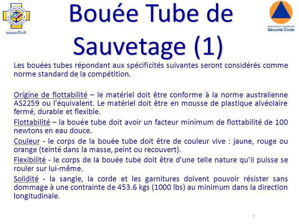 Bouée Tube de Sauvetage (1)