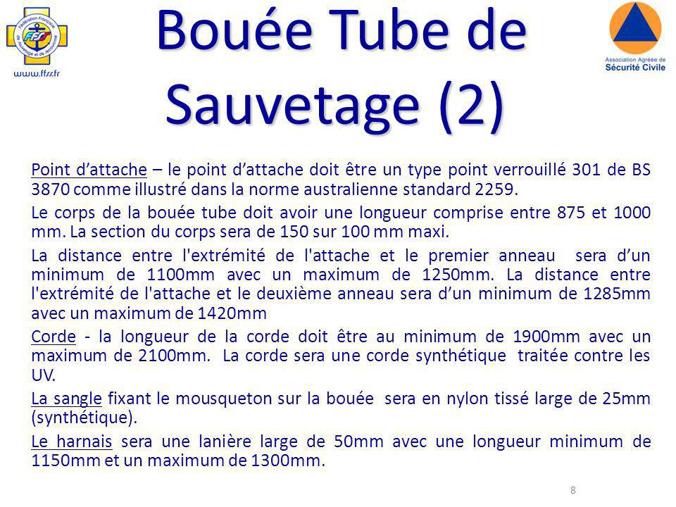 Bouée Tube de Sauvetage (2)