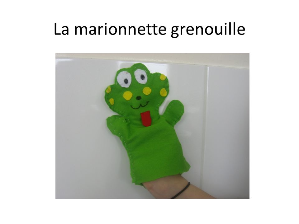 La marionnette grenouille