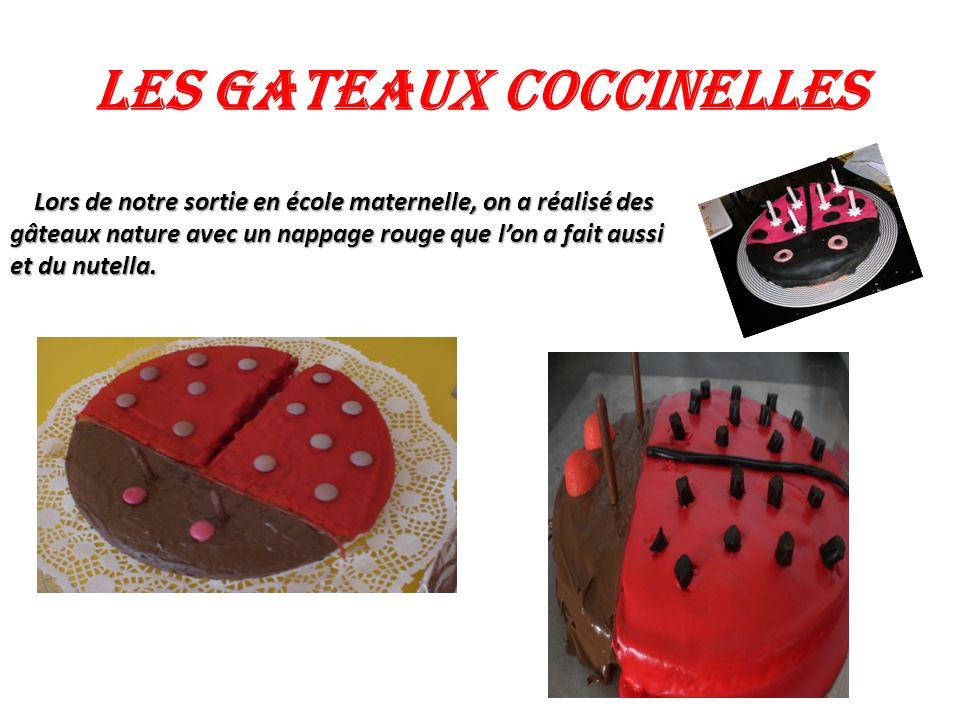 LES GATEAUX COCCINELLES