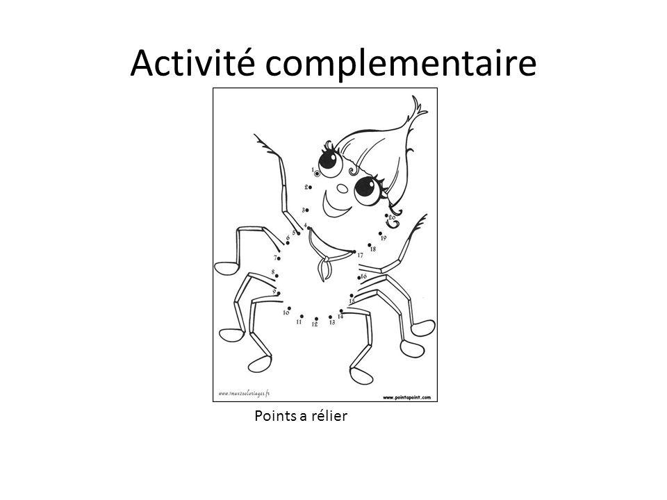 Activité complementaire