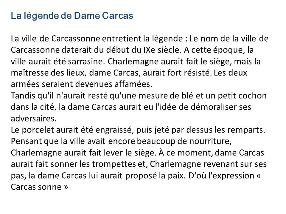 La légende de Dame Carcas