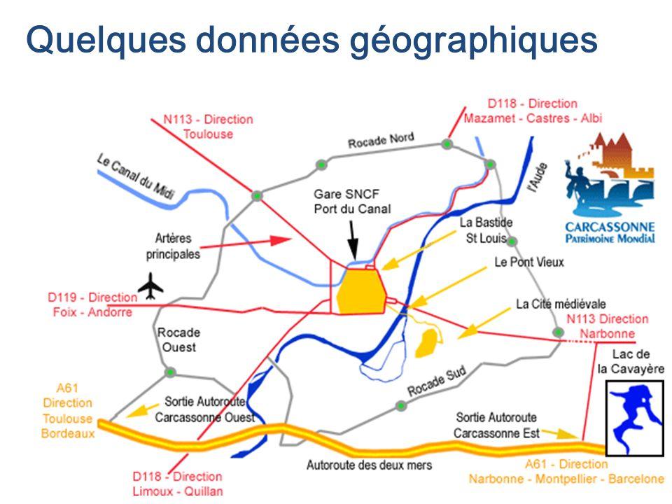 Quelques données géographiques