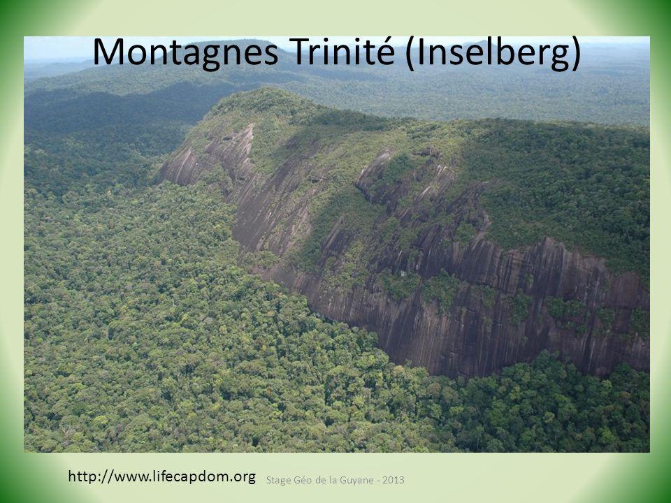 Montagnes Trinité (Inselberg)