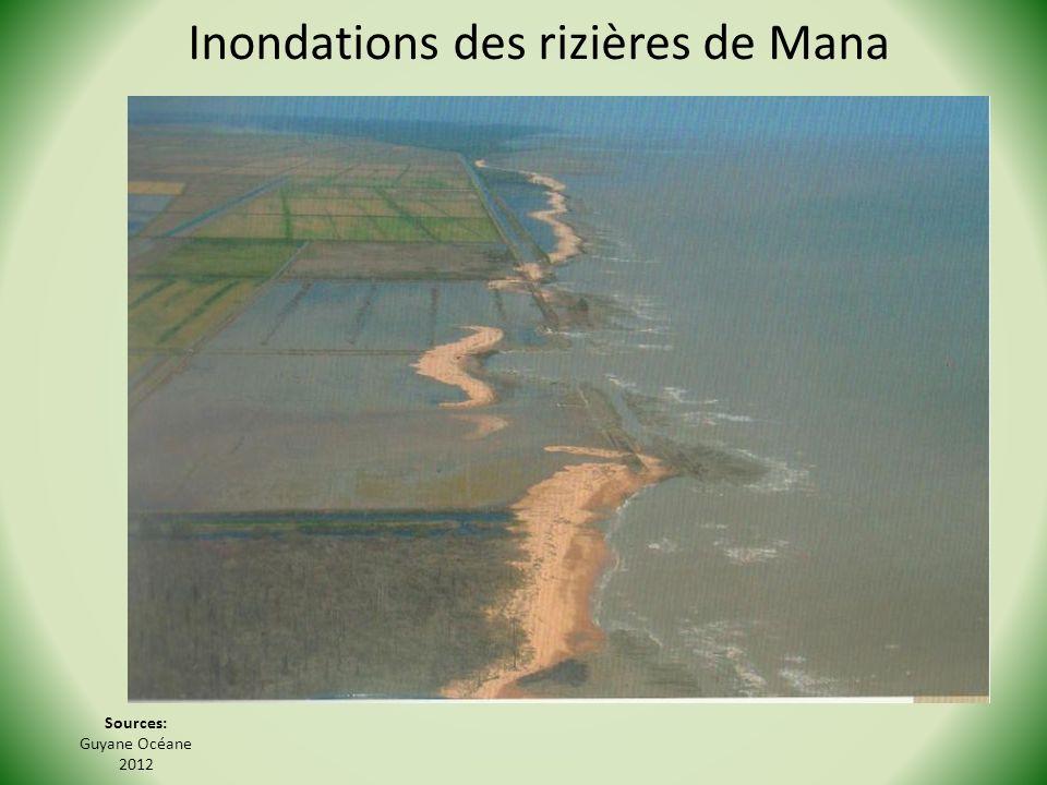 Sources: Guyane Océane 2012