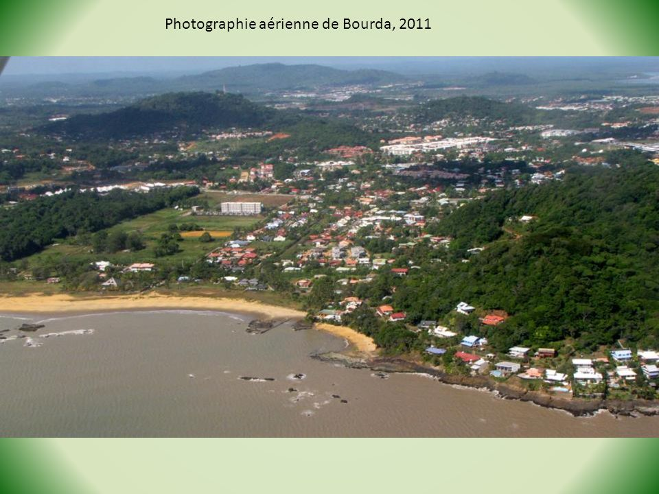 Photographie aérienne de Bourda, 2011
