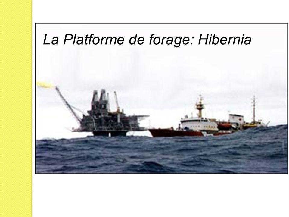 La Platforme de forage: Hibernia