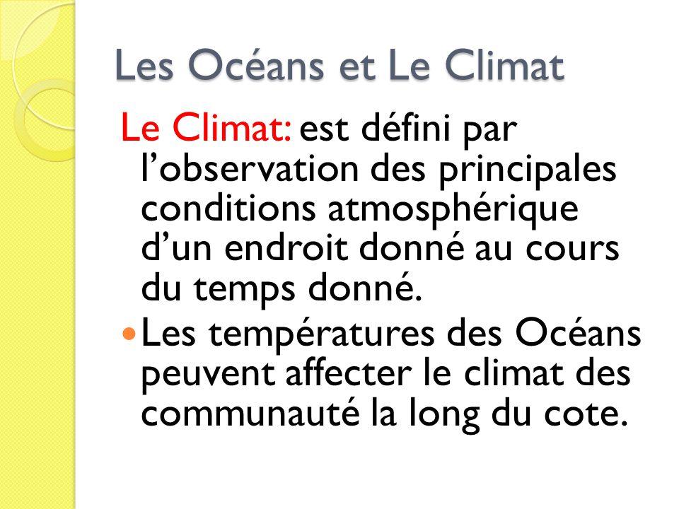 Les Océans et Le Climat