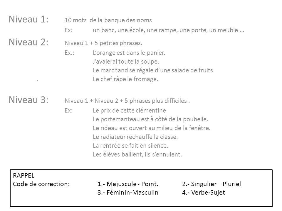 Populaire Liste de 1750 mots connus d'un enfant pour communiquer en français  LU62