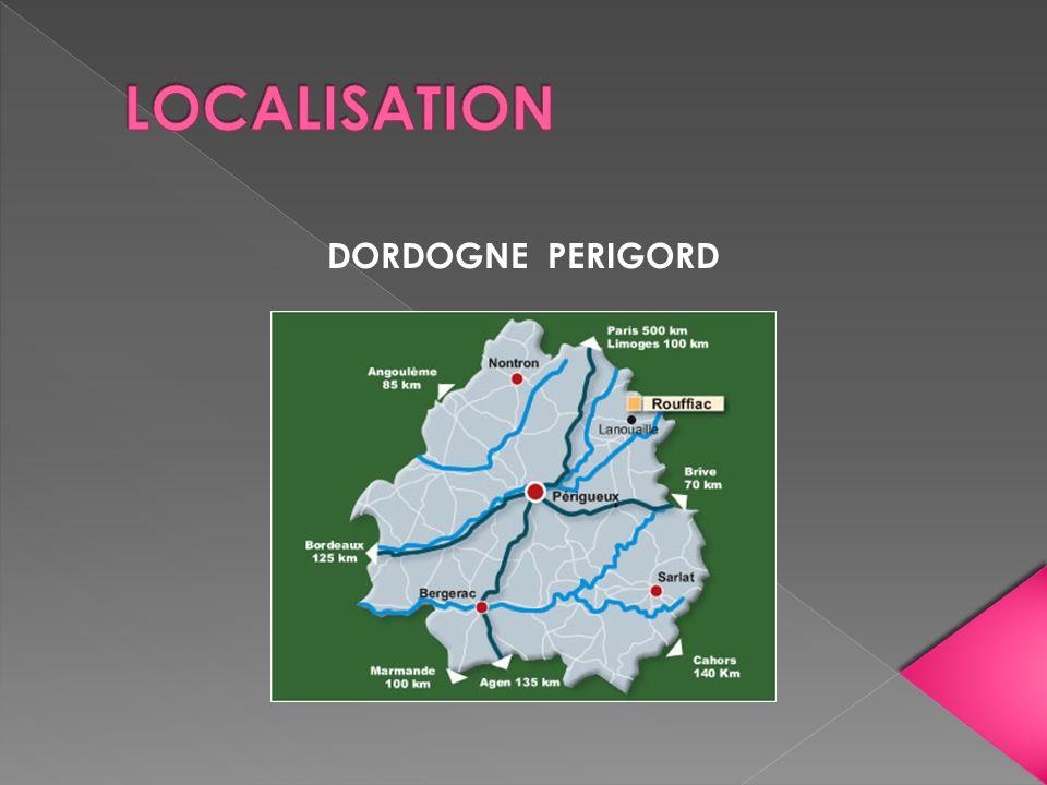 LOCALISATION DORDOGNE PERIGORD