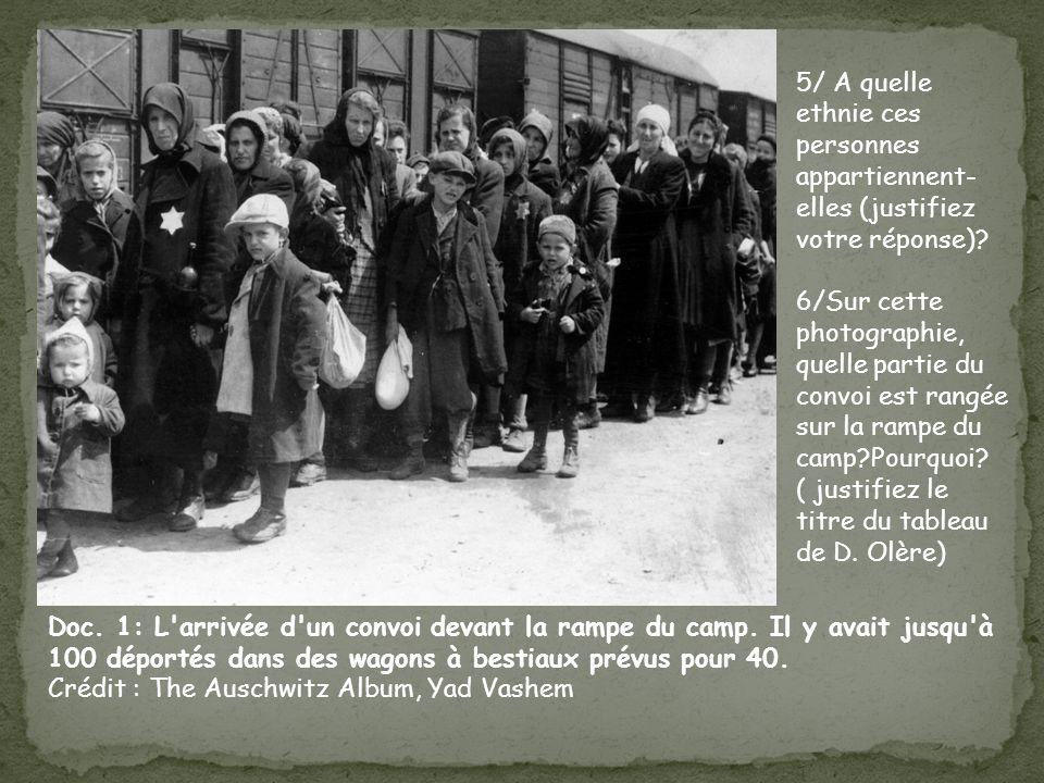 5/ A quelle ethnie ces personnes appartiennent-elles (justifiez votre réponse)
